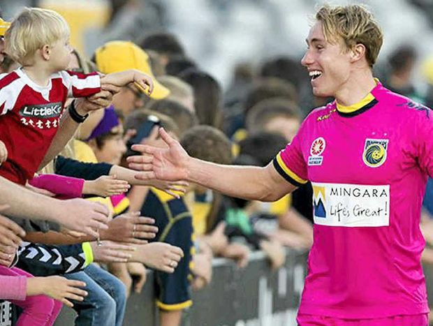 Zach Anderson is closing in on a permanent starting spot with the Central Coast Mariners after holding his own in recent games.