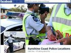Sunshine Coast Facebook RBT warning page copied in Logan