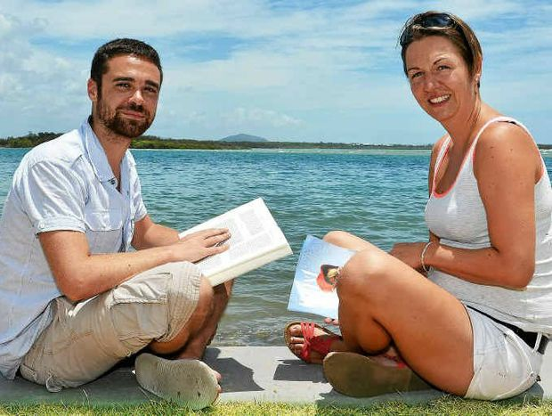 Damien Santerre and Julia Busse at Cotton Tree.