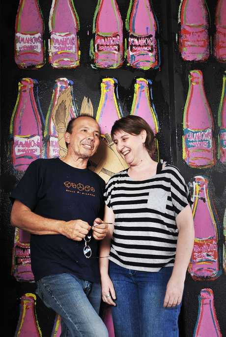 MOVING ON: Gil Burgh and LeAnne Vincent have closed the doors to the Swich Contemporary Art Space for the last time.