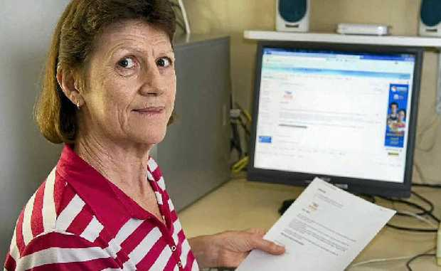 Drayton resident Carolyn Prout is warning people to be wary of online bank scams after receiving a fraudulent email claiming her account had been frozen.