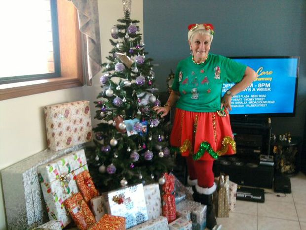 Marie the Mater Christmas Elf.