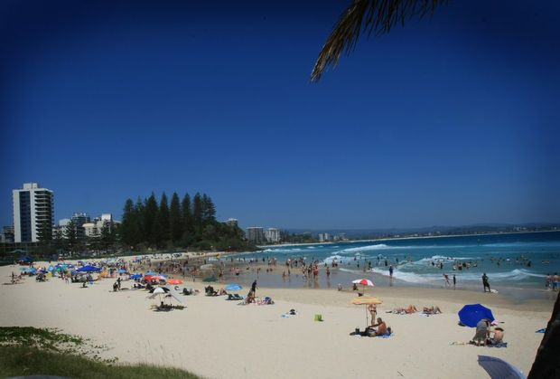 A morning spent at Rainbow Bay Coolangatta. Photo: Blainey Woodham / Daily News