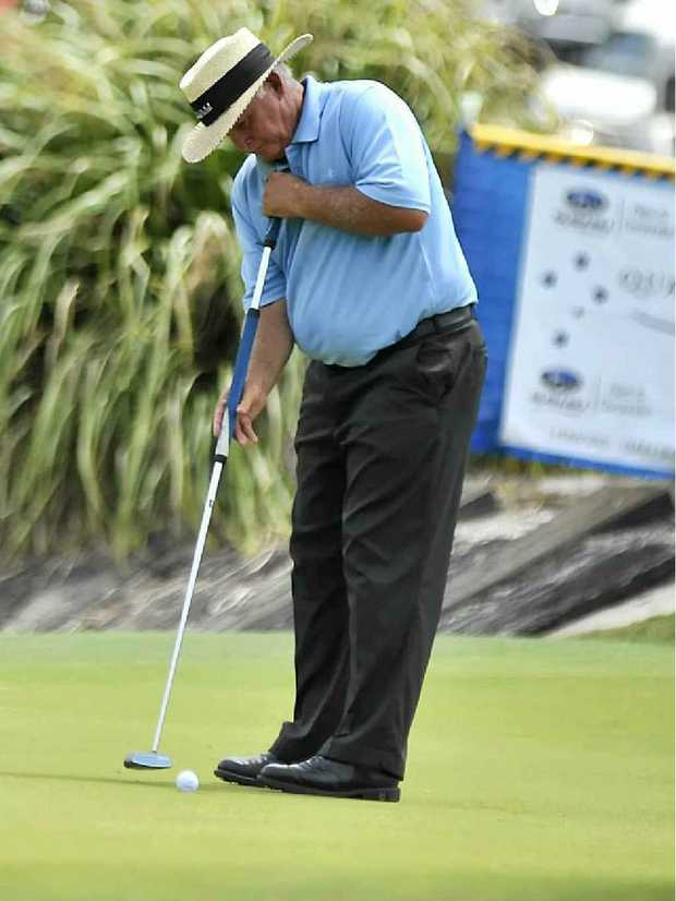 Australian Open champion Peter Senior is a previous contestant in the City of Mackay Pro-Am.