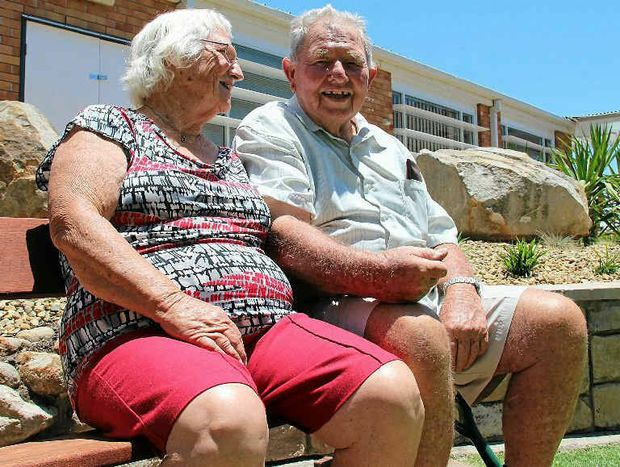 George and Shirley Monaghan have been married for more than half a century.