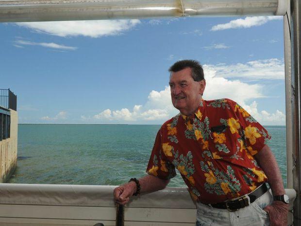Life is good for former Fraser Coast Mayor Mick Kruger.