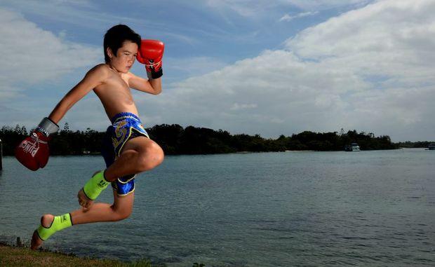 Muay Thai fighter John Robinson.