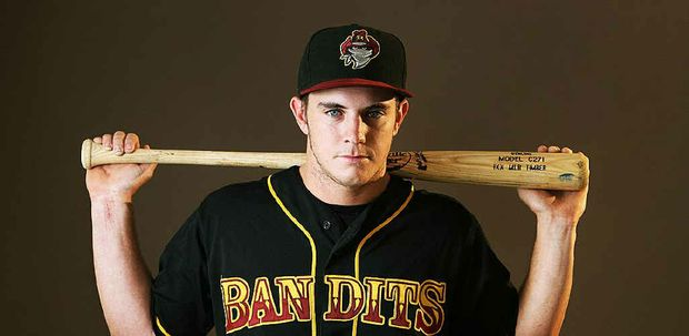Ipswich-based baseballer Andrew Campbell is playing well for the Brisbane Bandits.