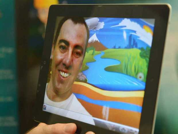 GREAT IDEA: Teacher Paul Hamilton takes a close look at his fantastic new app.