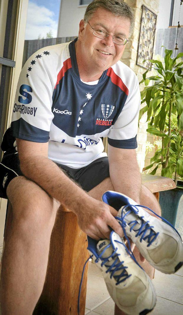 ON WAITING LIST: Robert Kington needs a heart transplant.