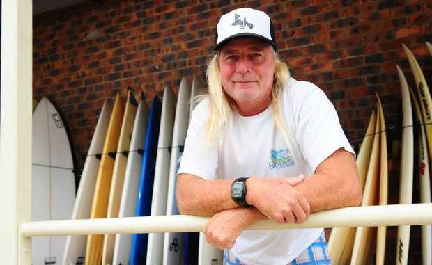Reef 2 Beach surf shop owner Wayne 'Grom' Mellick says this Christmas season has seen plenty of visitors arrive in 1770/Agnes Water.