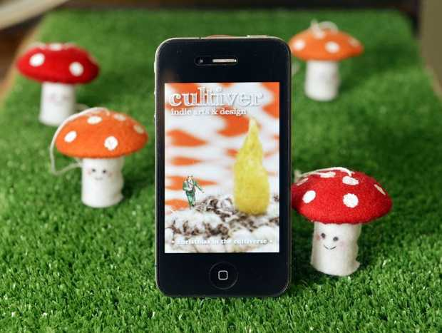 Cultiver will launch an eco-craft iPhone App soon.