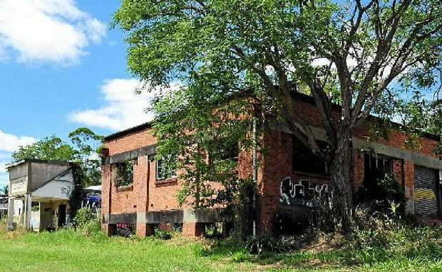 The historic Butter Factory at Eumundi would be restored as part of a proposed new retail complex.