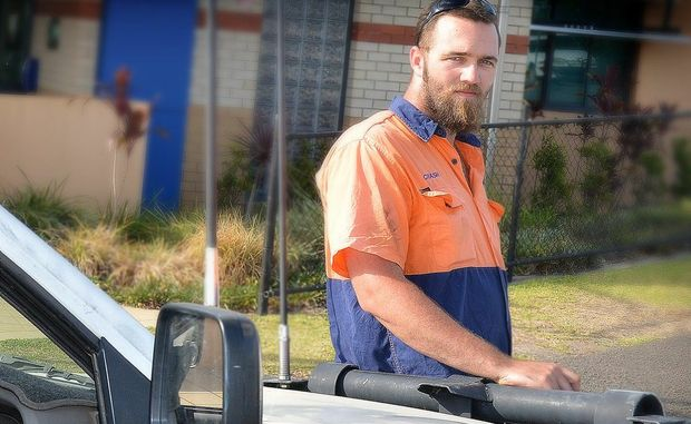 Mark Cowie was reunited with his utility on Monday.