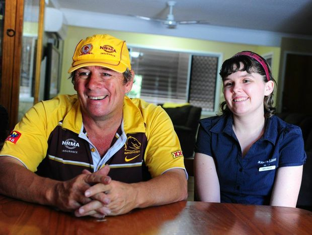 Graeme Huther and his daughter Melinda are happy with the boost in funding for the travel subsidy scheme.