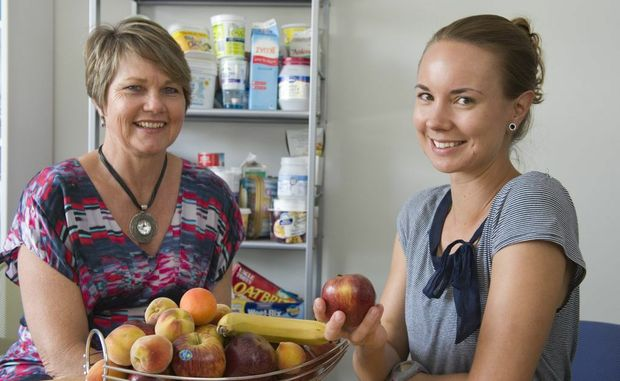 Ruth Logan (left) and Susanna Mihalik of Eat Wise For Life advise against fad diets.