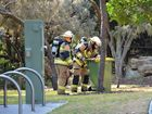 Man may have inhaled toxic gas from beachside canister