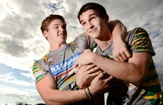 FAMILY TRAIT: Brothers Matt and Sam Parcell are preparing for the upcoming Ipswich Jets season.