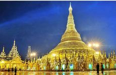 The majestic Shwedagon Paya in Yangon.