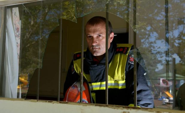 NSW Fire and Rescue captain Greg Hayes has had enough of the vandal's behaviour.