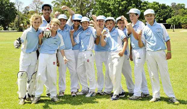 FUN IN THE SUN: The Ballina District Under-13 cricket team may have lost narrowly to Hawkesbury yesterday but the boys were still having a good time inthe annual carnival.