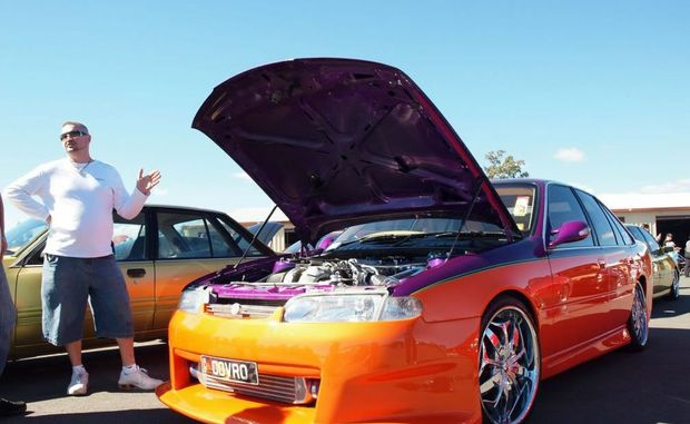 Car enthusiast Troy Kohncke, who died in a motorcycle crash at Mooloolaba.