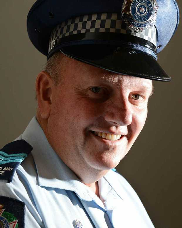 HIGH STANDARD: Police Officer of the Year Awards nominee Sergeant Tony O'Meara.