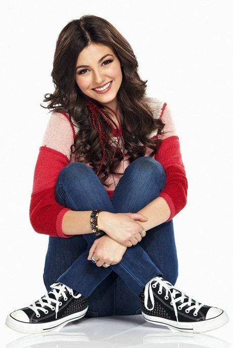 Tori Vega stars as Victoria Justice in the TV series Victorious.