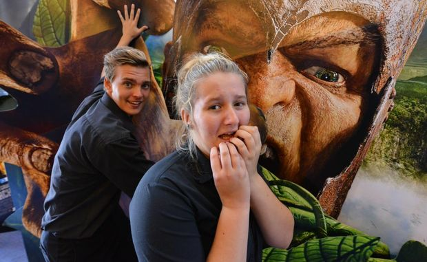 COMING SOON: Reading Cinemas Courtney Bond and Doug Brown are gearing up for the movie Jack the Giant Slayer.
