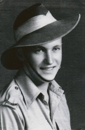 Clyde French during his days as a soldier.