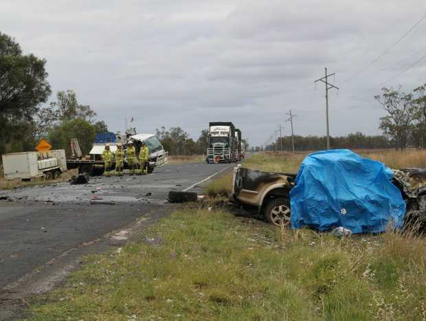 Seven people were killed and a further 103 seriously injured in crashes on the Warrego Highway last year.