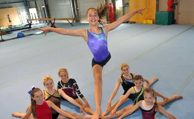 BIG YEAR: Gymfinity squad prepare for the 2013 competition season. Photo: Max Fleet / NewsMail