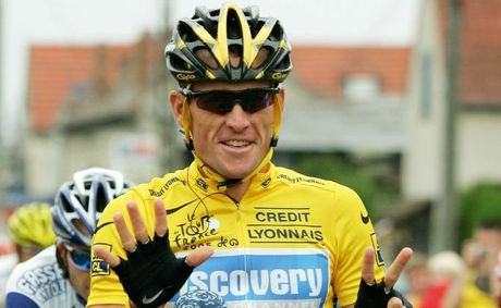 LOSING OUT: Lance Armstrong is set lose