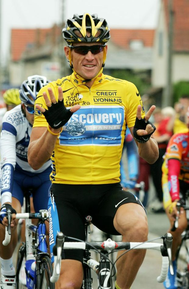 LOSING OUT: Lance Armstrong is set lose more then his seven tour titles. (Photo by Robert Laberge/Getty Images)