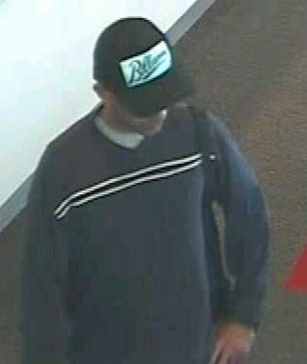 Maryborough District Detectives want to speak to this man in relation to the attempted robbery of a bank on January 15.