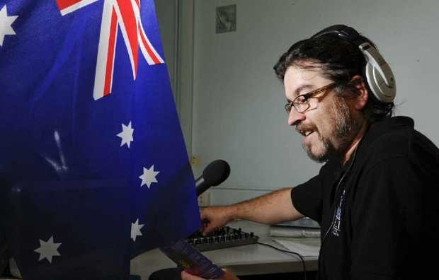 Life FM presenter Marty Wells is looking forward to the Australia Day programming at the station.