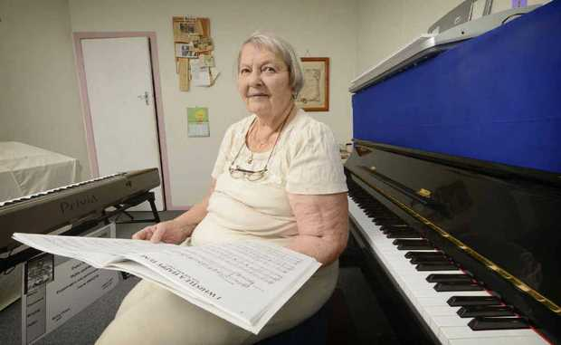 RUNNING ON EMPTY: Betty Stone, 86, is seeking sponsors for the Combined Churches Magpie indigenous music program.