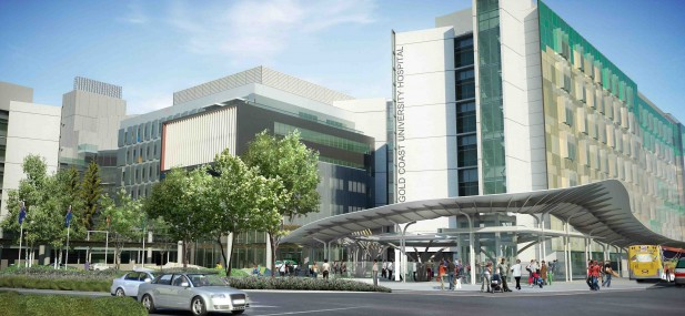 The Gold Coast University Hospital, which was recently completed.