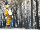 FIREFIGHTERS were able to control a grass fire which was burning near a forestry on the southern Darling Downs.