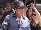 Charlie Sheen to become a grandfather for first time