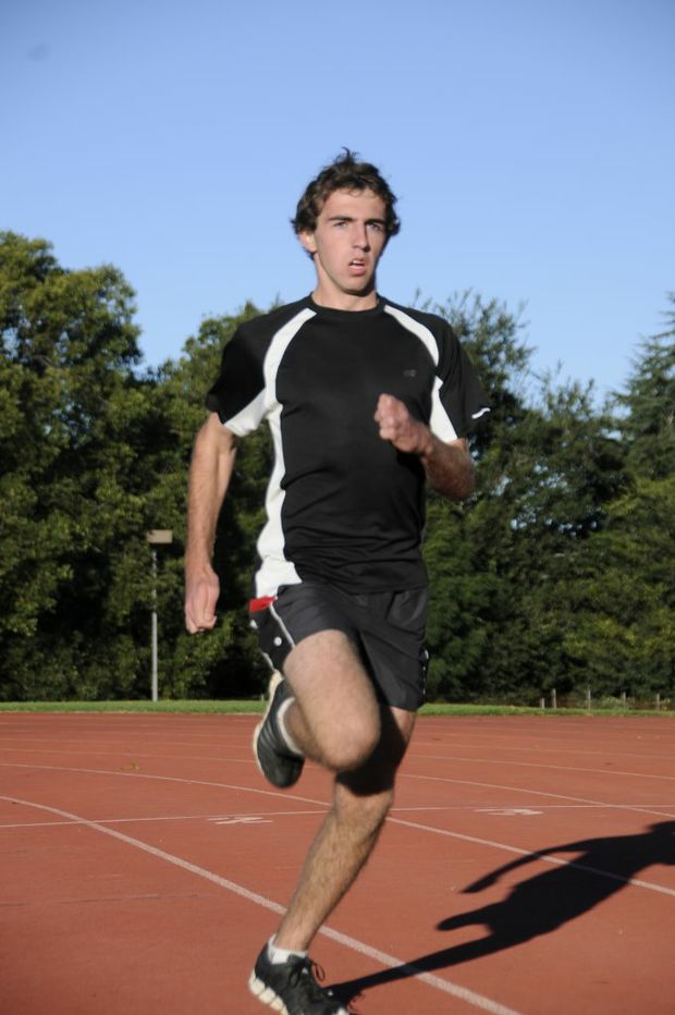 Sprinter Lawrence Upton will be up against the toughest competition of his career at the Australian Youth Olympics Festival.