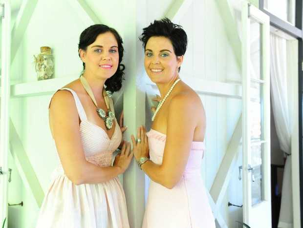 Not one but two Girl Fridays! Identical twins Corinne Wright and Kristi Bradley are proud Gladstone girls.