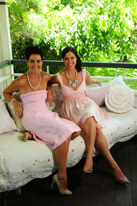 Not one but two Girl Fridays! Identical twins Kristi Bradley and Corinne Wright are proud Gladstone girls.