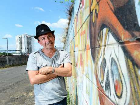 PAINT THE TOWN: Gil Burgh would like to see more street art in and around Ipswich.