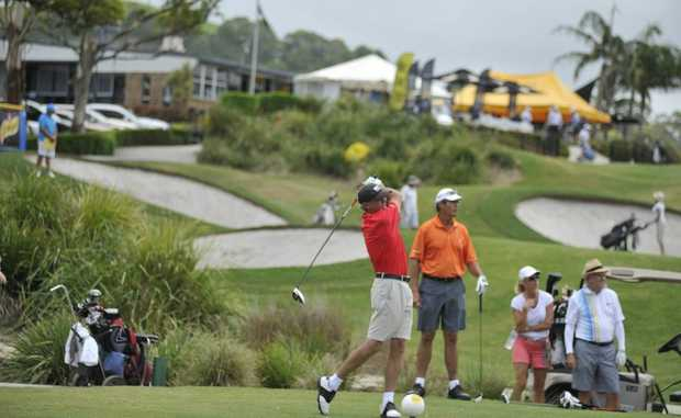Byron Bay Golf Club during the recent Australian Legends.
