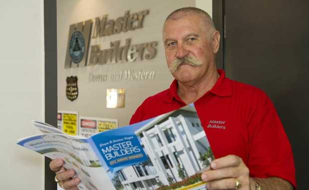 Master Builders (Downs and Western) regional manager Tony Ryder.