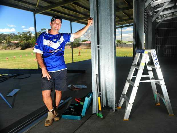 Valley's President Keiran Lawler is holding a fundraiser so the club can finish building their clubhouse.
