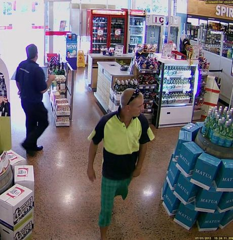 If you recognise this man contact Ballina police.
