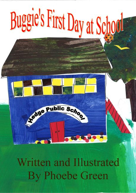 One of the many books written by child authors needing to be reviewed.