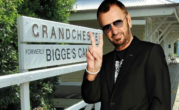 Ringo Starr has been invited to visit historic Grandchester railway station.